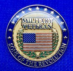 Military Veterans Pin