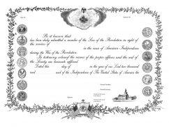 GS Membership Certificate
